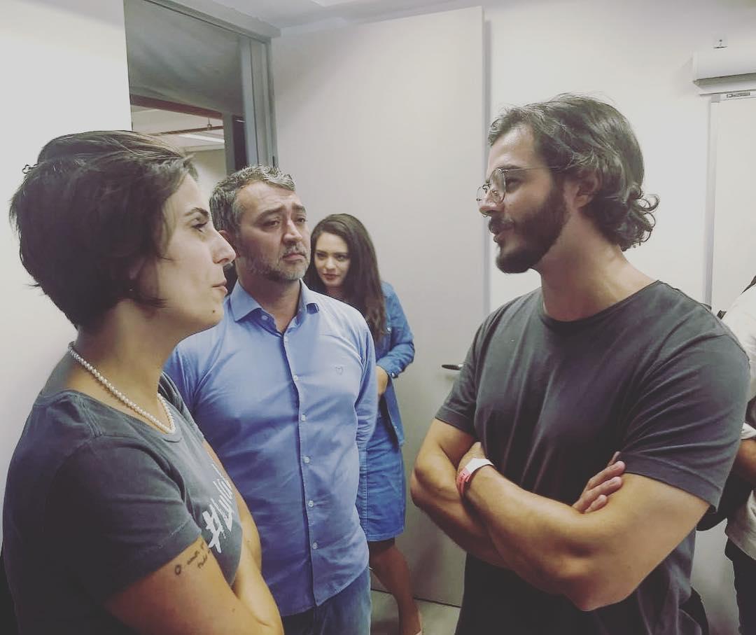 Túlio Gadêlha visita Lula no Sindicato dos Metalúrgicos no ABC