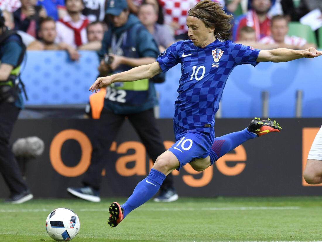 Luka Modric, camisa 10 do Real Madrid e da Croácia