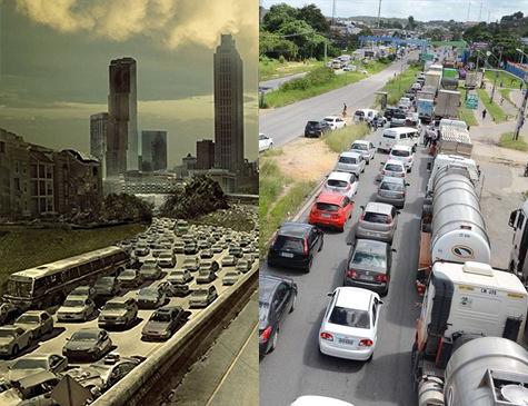 Com a falta de gasolina dos últimos dias, internautas comparam situação do país com série apocalíptica