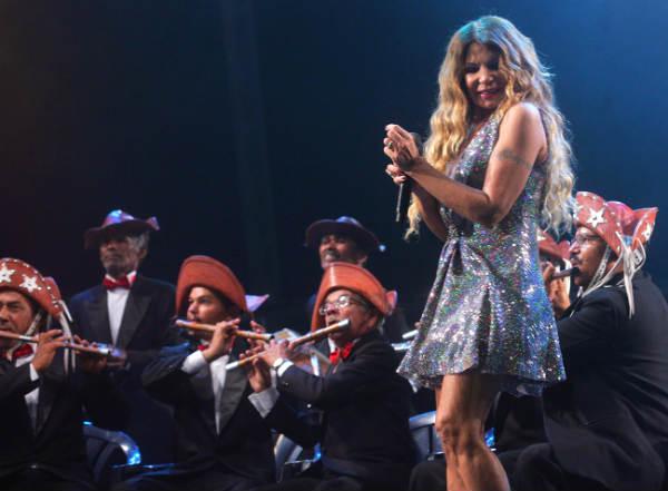 Por diversas vezes, Elba convidou a orquestra para se apresentar junto com ela em Caruaru
