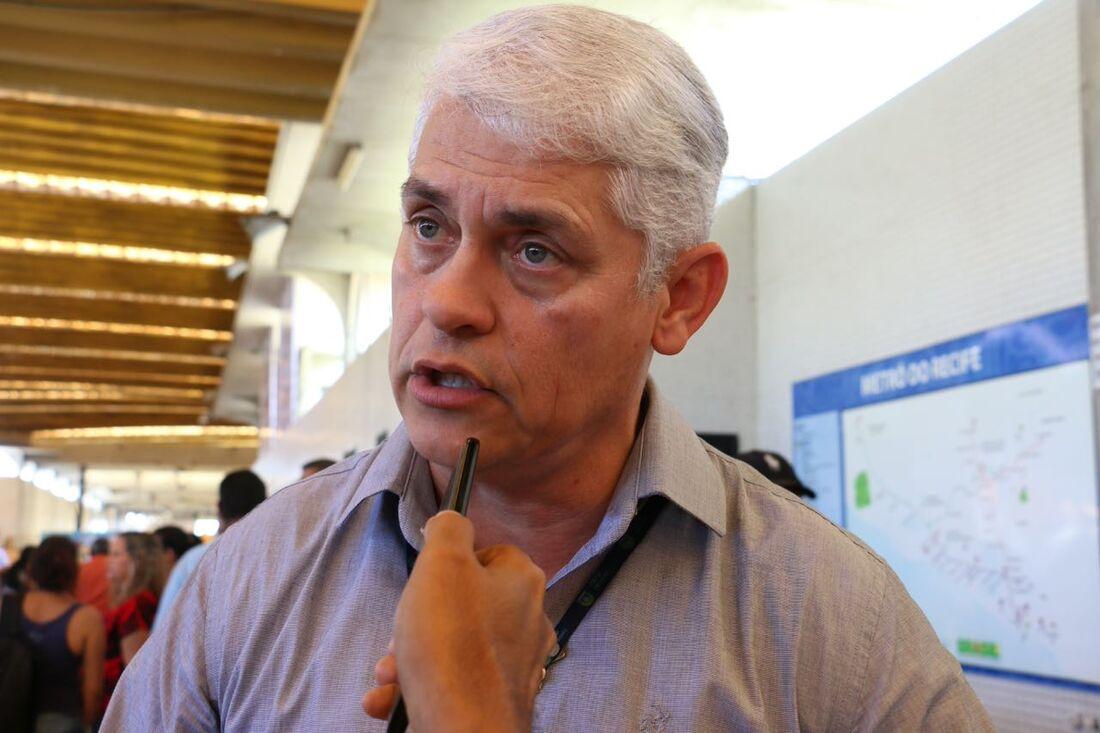 Murilo Barros, gerente operacional da CBTU