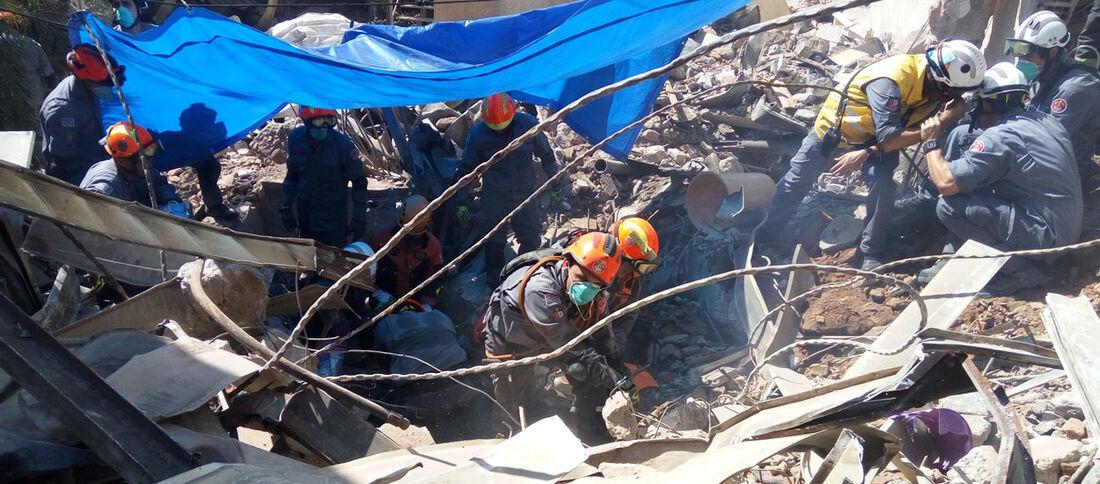 Corpo de primeiro desaparecido que estava sob escombros de prédio que desabou em São Paulo