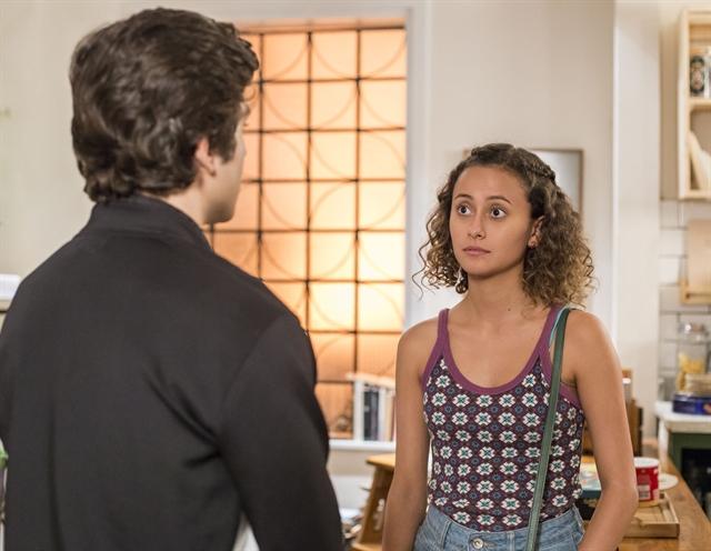 Maria Alice (Alice Milagres) e Alex (Daniel Rangel)