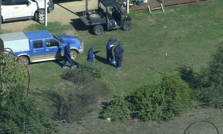 Corpos foram encontrados em propriedade em Osmington, próximo a uma conhecida região vitícola ao sul de Perth