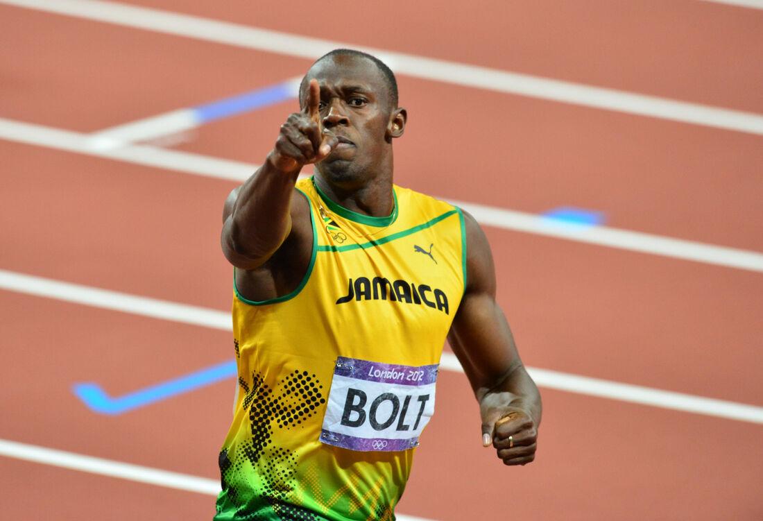 Usain Bolt, lenda do atletismo mundial