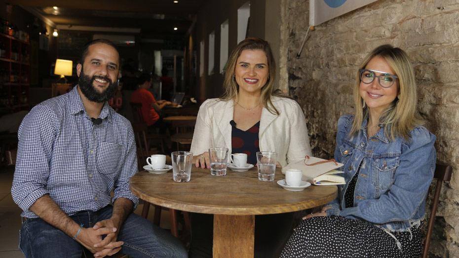 Marília Arraes foi entrevistada Daniel Leite e Renata Bezerra