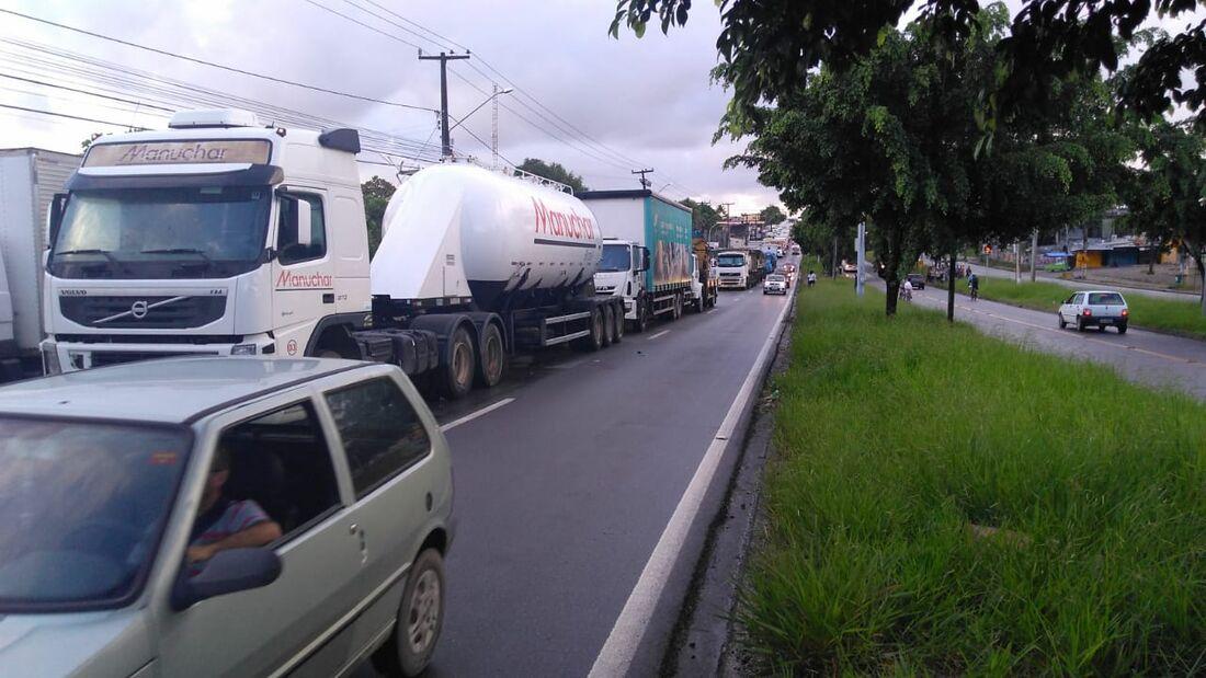 Protestos de caminhoneiros continuam