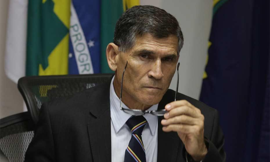 O secretário nacional de Segurança Pública, general Carlos Alberto Santos Cruz