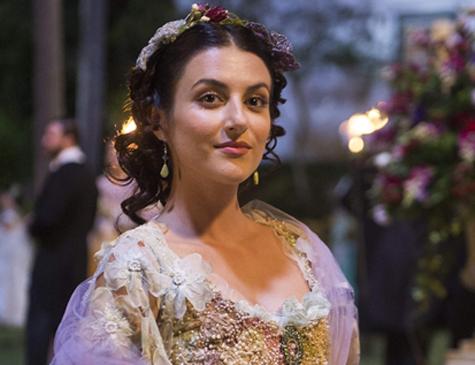Anaju Dorigon é Cecília em 'Orgulho e Paixão'