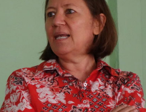 Maria Teresa Blandón, integrante da organização La Corriente