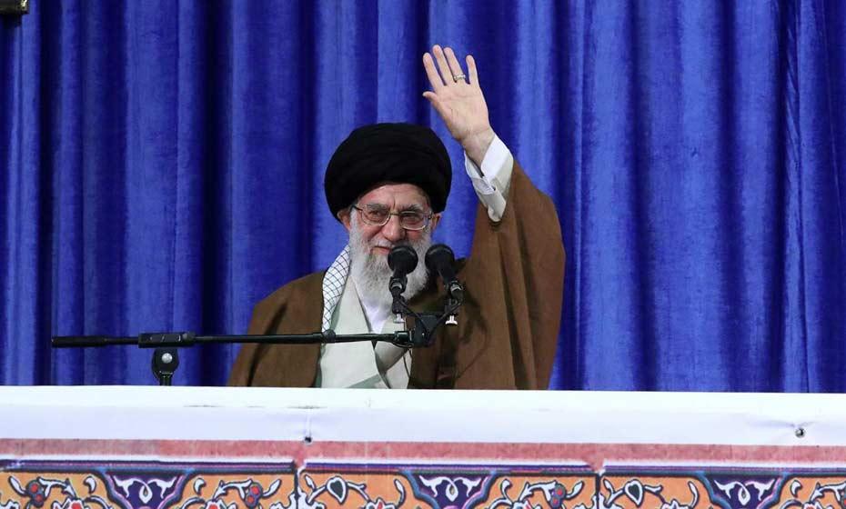Líder supremo iraniano Ali Khamenei