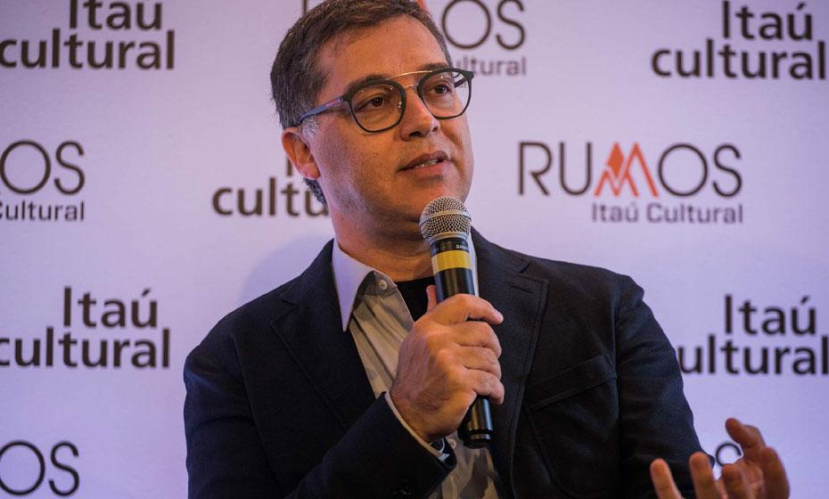 Eduardo Saron, diretor do Itaú Cultural