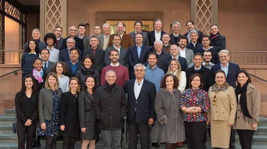 Paulo Câmara e Haddad participaram do encontro promovido pela Fundação Lemann em 2017