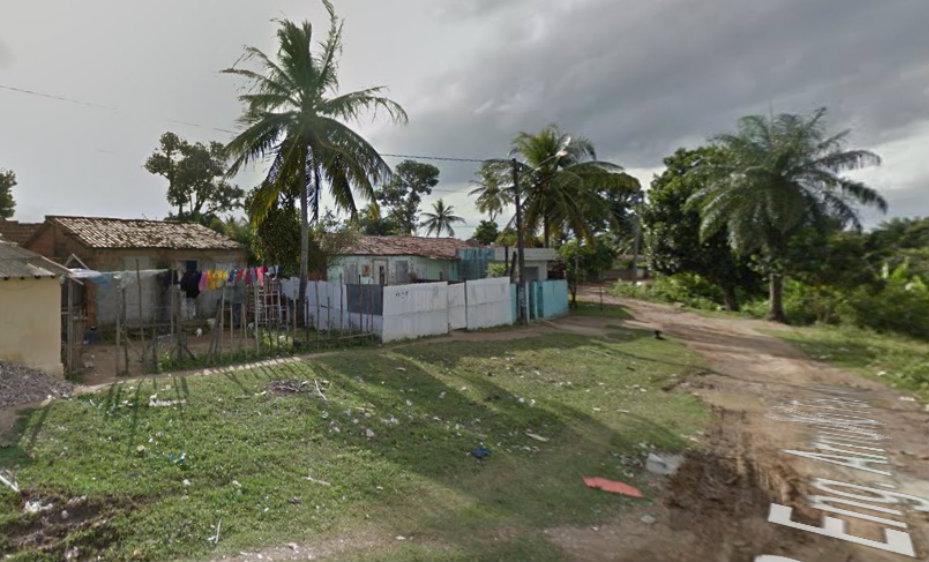 Rua Engenheiro Arnulfo Falcão, no bairro de Passarinho