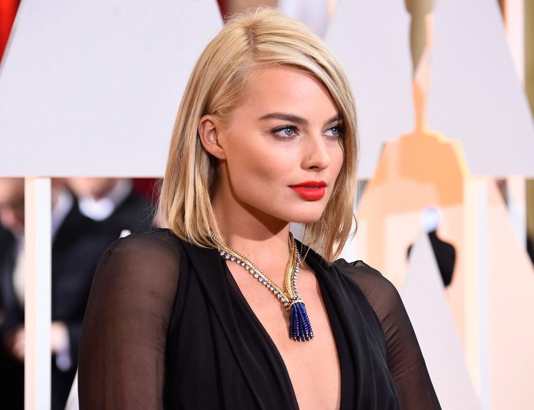 Margot Robbie irá trabalhar com Leonardo DiCaprio e Brad Pitt