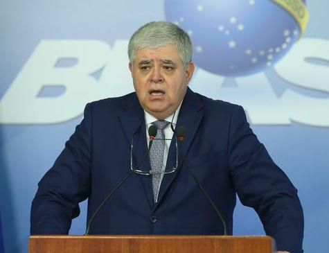 Ministro Carlos Marun concede entrevista