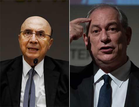 Henrique Meirelles e Ciro Gomes, presidenciáveis