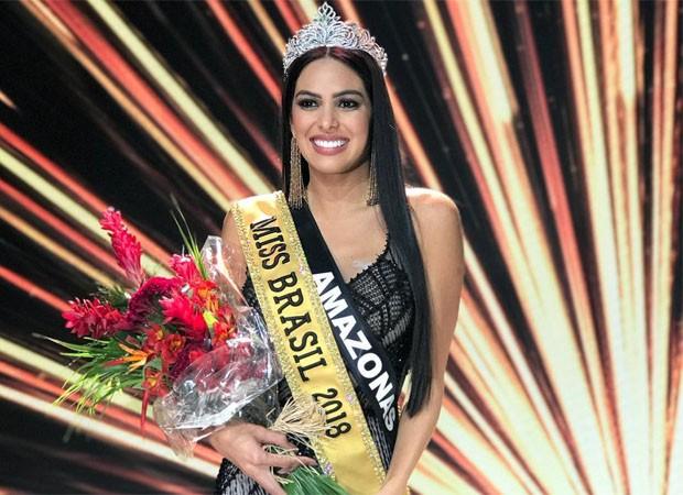A miss Amazonas, Mayra Dias, é a nova representante de beleza do Brasil