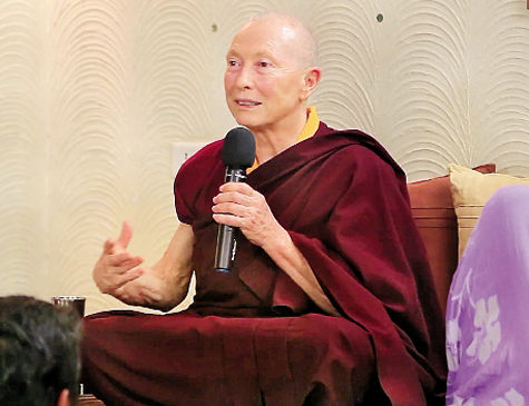Monja budista Karma Lekshe Tsomo