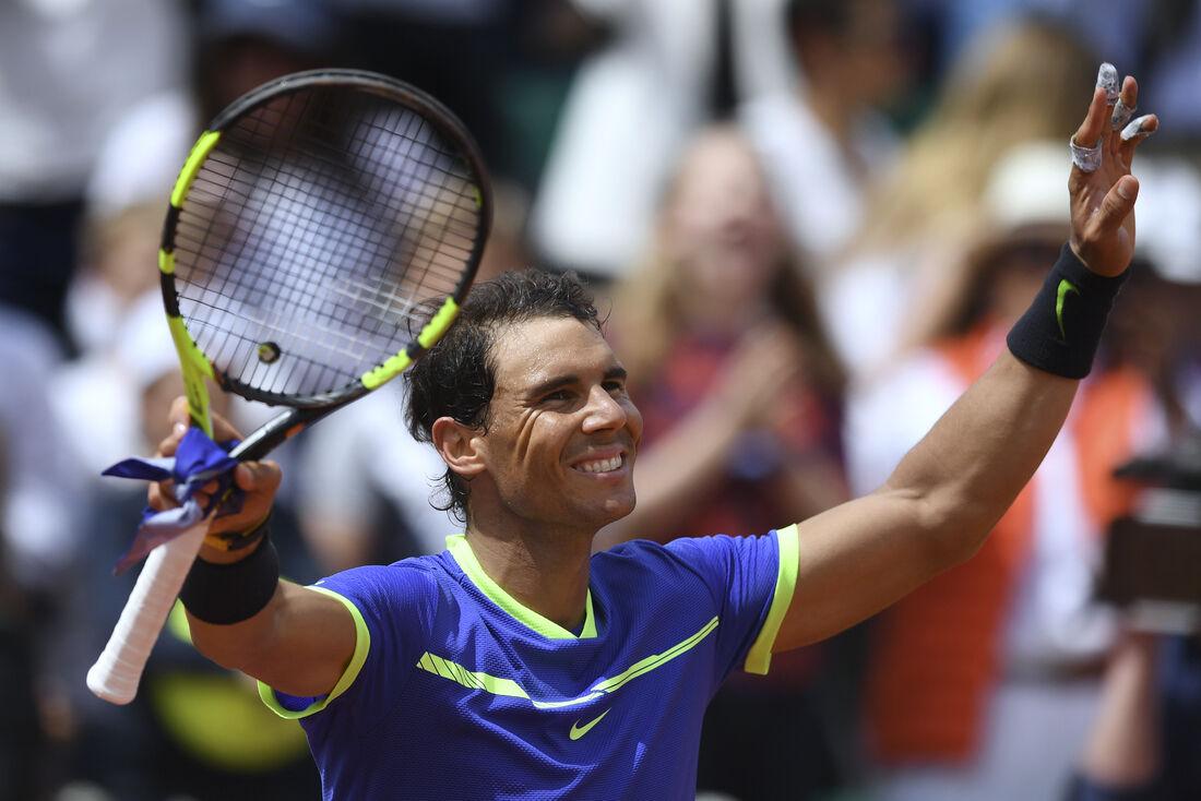 Rafael Nadal, número 1 do mundo