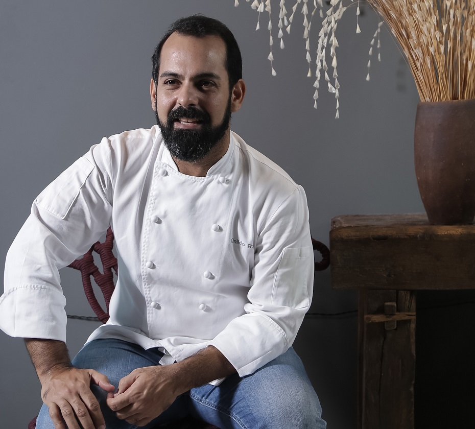 Onildo Rocha, da Cozinha Roccia, é o convidado de Laurent