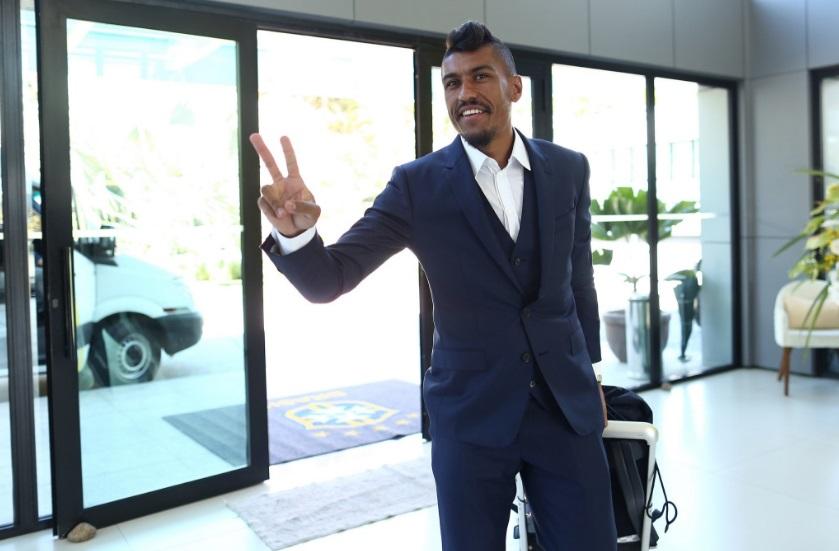 Paulinho também chegou à Granja nesta terça-feira (22)