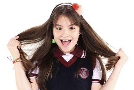 Poliana, personagem de Sophia Valverde em 'As Aventuras de Poliana'