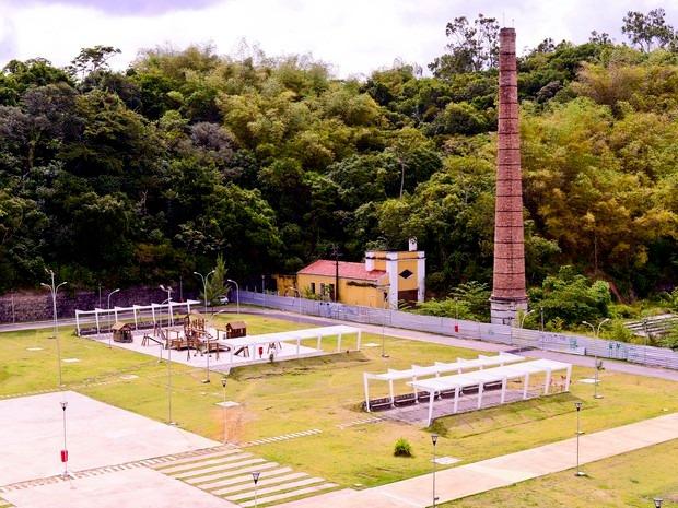 Parque Urbano da Macaxeira, na Zona Norte do Recife