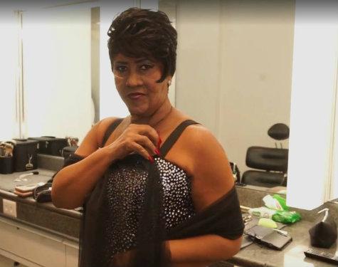 Sandra de Sá como Aretha Franklin