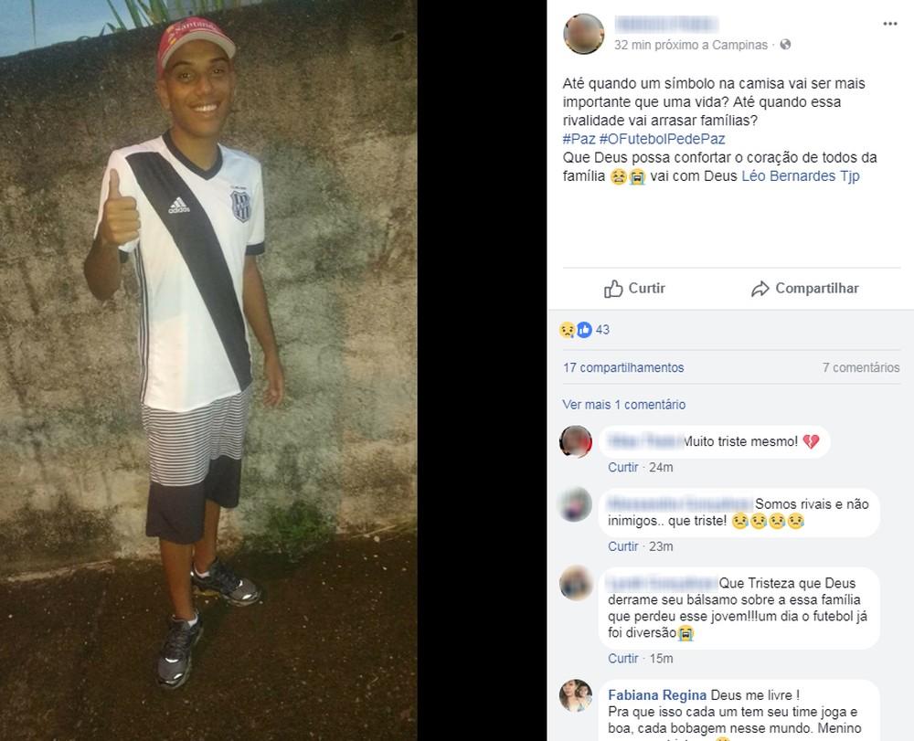 Jovem morreu em briga entre torcedores de Ponte Preta e Guarani