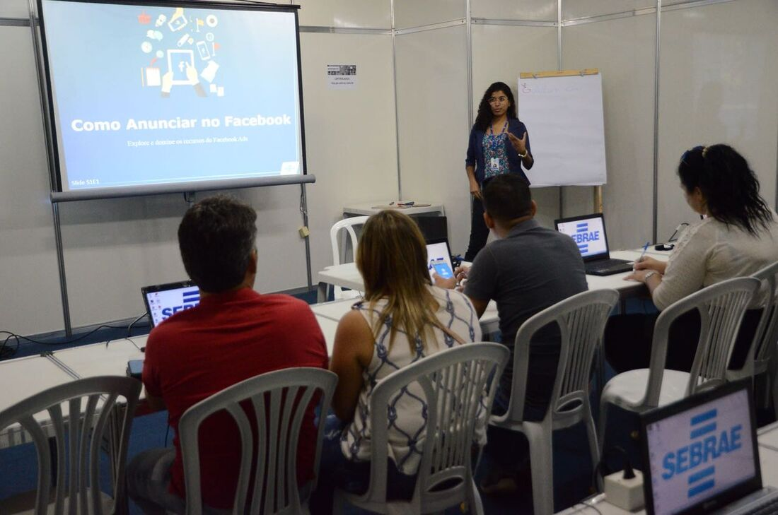 Semana do micro empreendedor (MEI), realizada pelo Sebrae