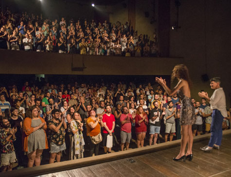 'O Evangelho Segundo Jesus', de Renata Carvalho, lotou o Teatro Apolo, durante o Trema!