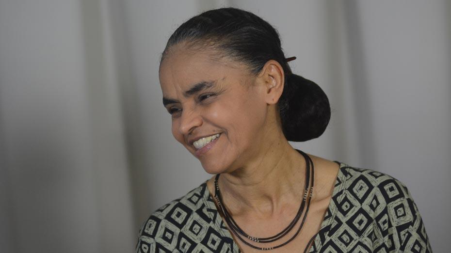 A candidata Marina Silva (Rede) teve o registro de sua candidatura aceita pelo TSE