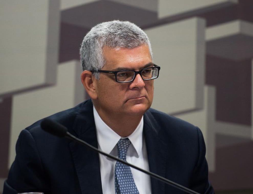 O diretor financeiro da Petrobras, Ivan de Souza Monteiro