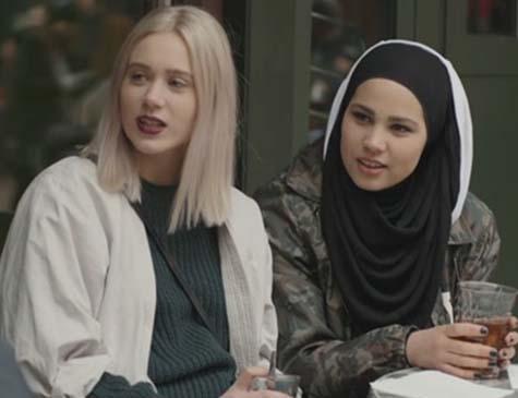Na série 'SKAM', Noora e Sana trazem debates importantes sobre feminismo e religião