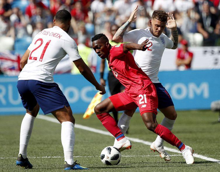 Inglaterra e Panamá se enfrentaram em Nizhny Novgorod
