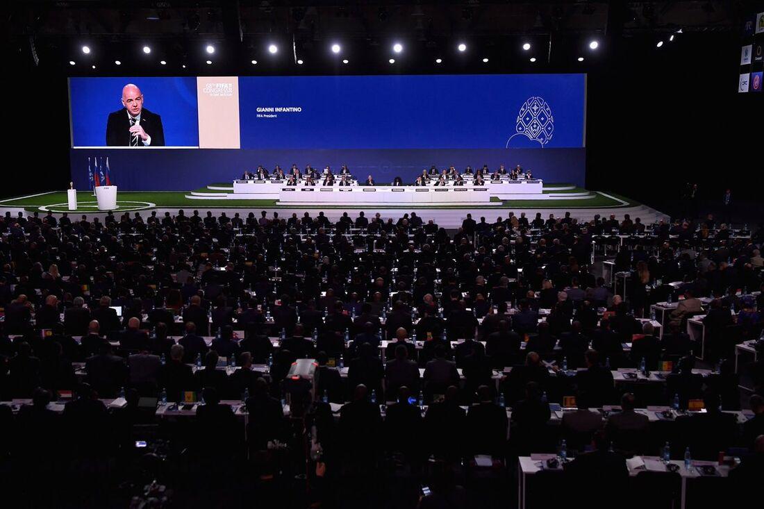 Anúncio ocorreu no congresso da Fifa, em Moscou