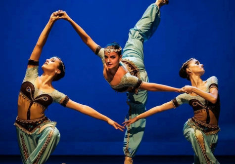 Bailarinas do Studio de Danças