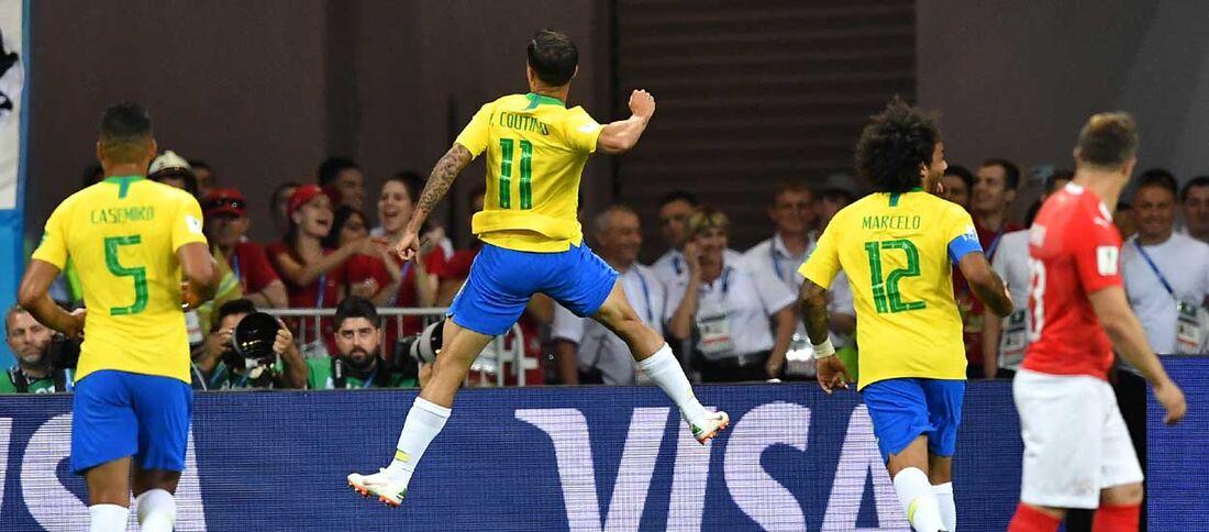 Gol de Philippe Coutinho