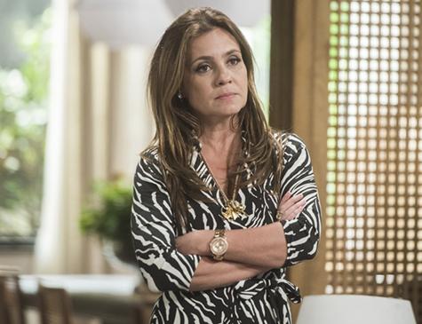 Adriana Esteves é Laureta em 'Segundo Sol'