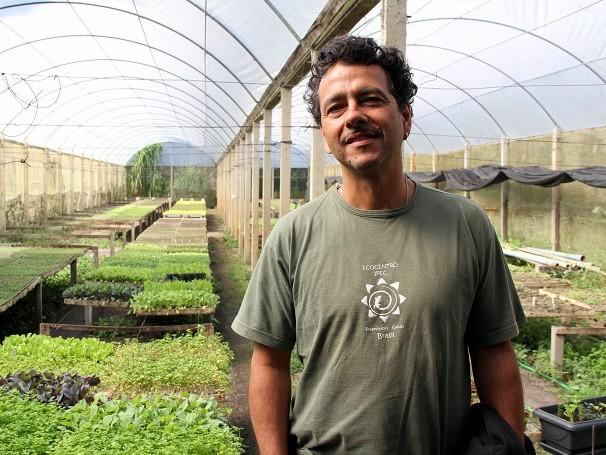 O ator se divide entre novelas e o trabalho na sua fazenda em Teresópolis