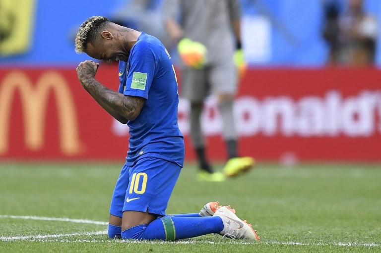 Neymar está virando motivo de chacota em todo o mundo