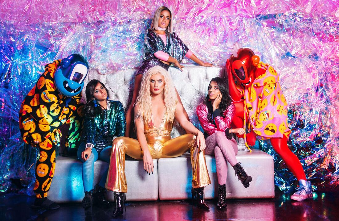 MC Loma, as Gêmeas Lacração e Aretuza Lovi são as estrelas do novo single do duo Pankadon
