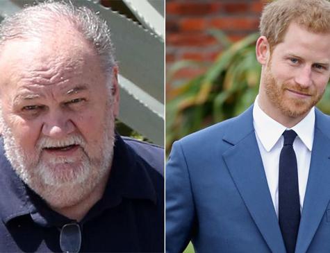 Thomas Markle não compareceu ao casamento real, de sua filha com o príncipe Harry