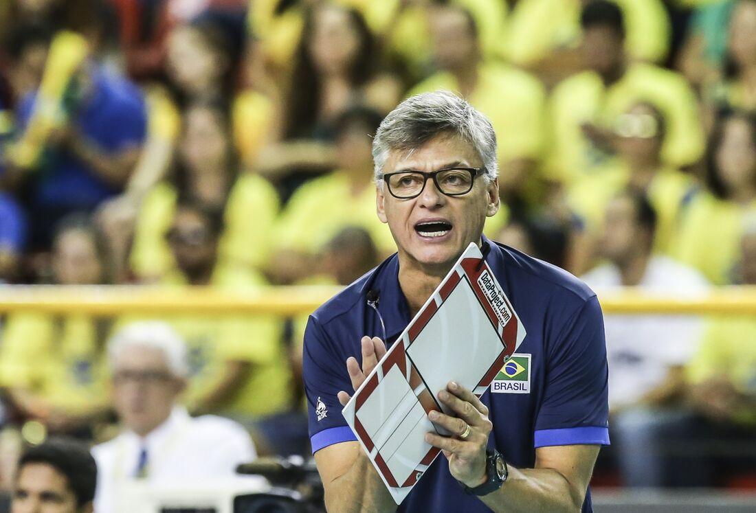 Renan Dal Zotto, técnico da seleção masculina de vôlei