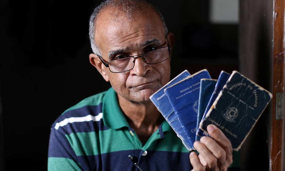 Ex-metalúrgico Paulo Ronaldo tem 62 anos, trabalha desde os 13 e não consegue se aposentar
