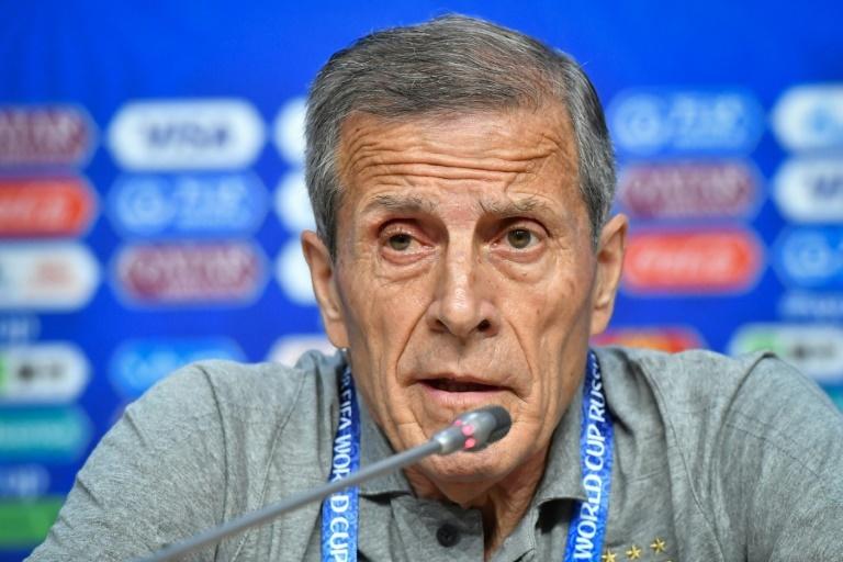 Oscar Tabárez, técnico uruguaio