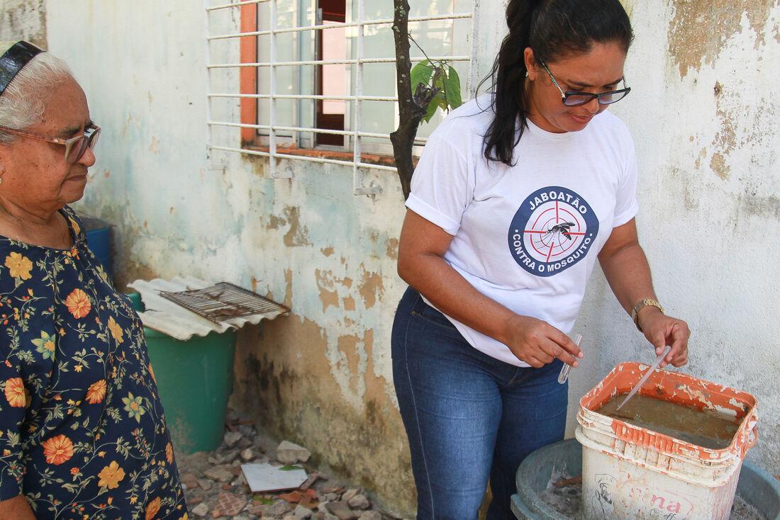Focos de dengue caem 26%, em Jaboatão dos Guararapes