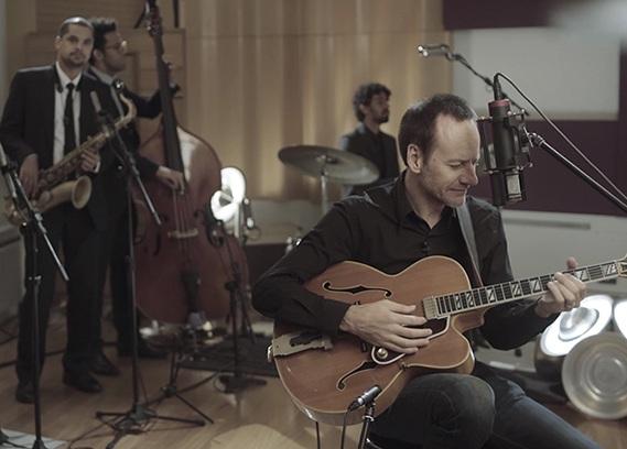 Selo Sesc lança dvd Auditivos do guitarrista e apresentador Daniel Daibem