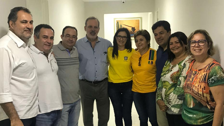 Armando em visita a Arcoverde